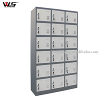 smart digital post parcel delivey steel locker for rental in public