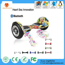 Hot sale 10 inch two wheel smart self balancing electric scooter