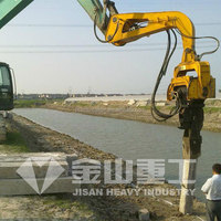 Hydraulic Vibratory Pile Hammer, hydraulic Pile driver