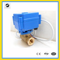 CR01 12v brass motorized ball Valve for feed water control