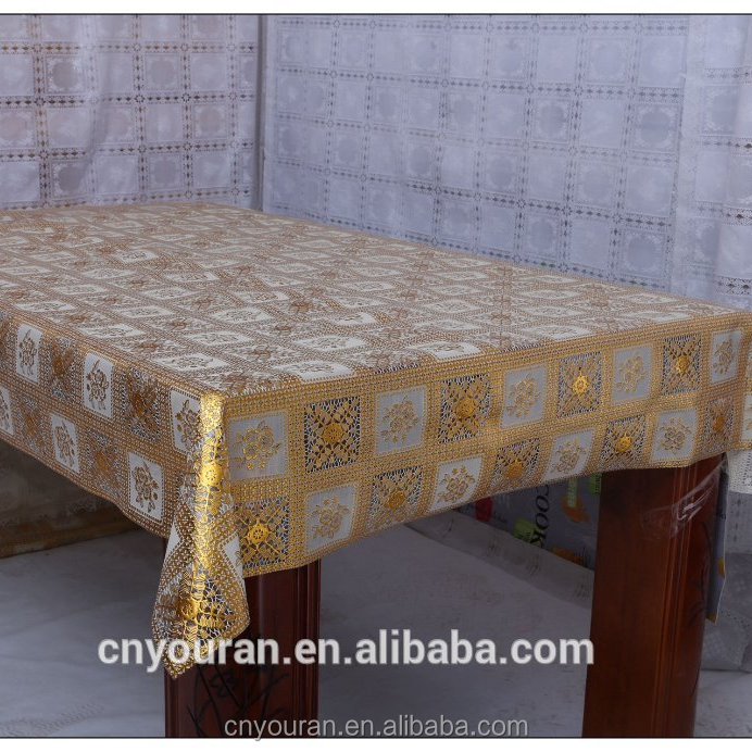 Yiwu factory hot selling waterproof printed pvc table cloth 1.37m*20m/roll
