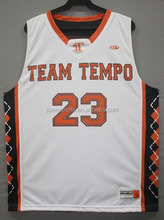 Sublimated wholesale custom basketball jersey and shorts latest basketball jersey design