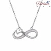 Ditina Fashion Jewelry Infinity Shaped With