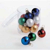 Sale Christmas Decorations 1 Inch Plastic Ball Hollow Ball