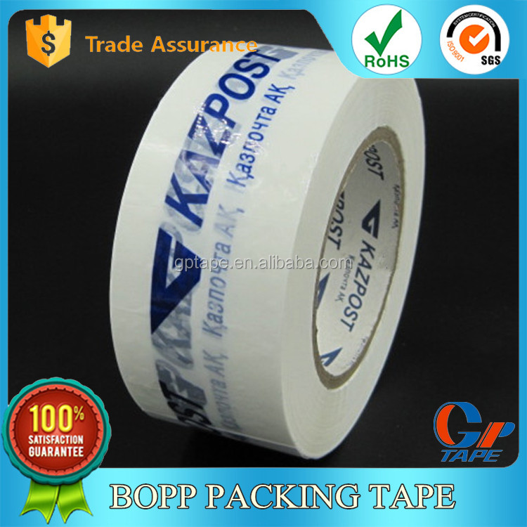 Alibaba Hot Sale Opp Adhesive Acrylic Printed Box Sealing Tape With Logo