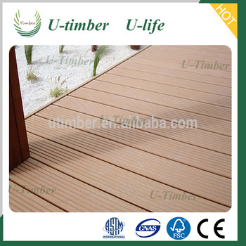 Hollow WPC board wood plastic composite decking