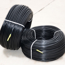 "2"" black poly rolled drain corrugated drainage pipe"