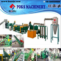 good quality wast pe film recycling line