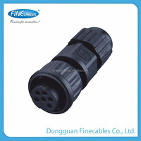 Female connector multifunctional connector m12 quick lock type automotive wire connector terminals