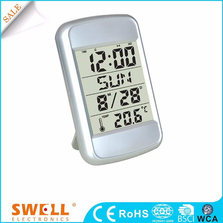 China Weather Station Rohs Birthday Remind Countdown Digital Wall Clock Timer