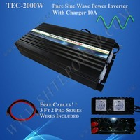 2000W 12V 220V Inverter Charger, UPS, Inverter with Battery Charger inside