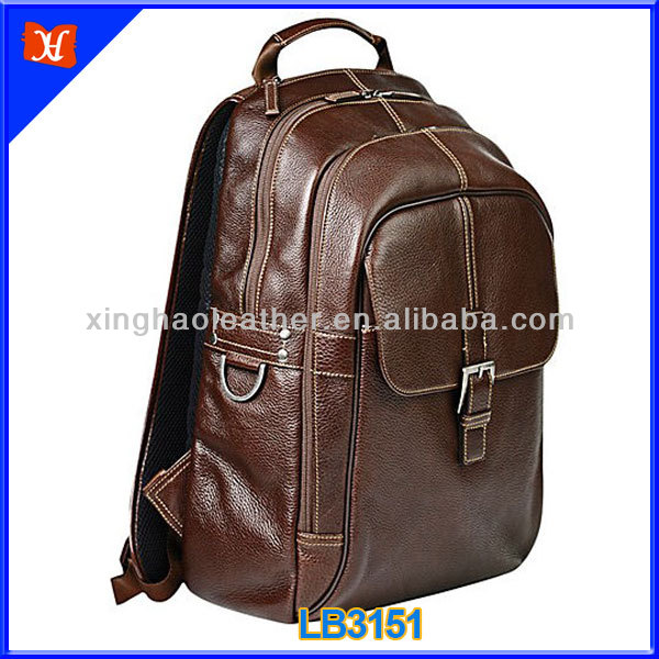 New products 2014 genuine leather backpack men leather fashion backpack,korea real leather backpack,mens designer leather backpa