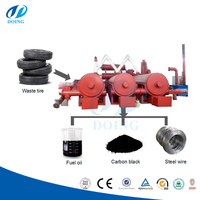 Tire chamber tyre pyrolysis oil distillation continuous waste tire/plastic pyrolysis plant