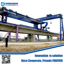 bridge girder launching gantry crane price for highway building