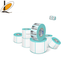 Pre-Printed Logo Roll Printable Thermal Transfer Clear Gloss Labels