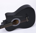 Roundplastic back Acoustic Guitar