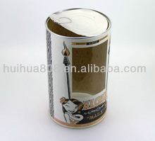 hot sale Customized round paper packaging tea sugar coffee box tube/ tea container