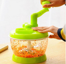 Home use Small Manual Food Processor Swift Chopper/Food Salad Vegetable Chopper