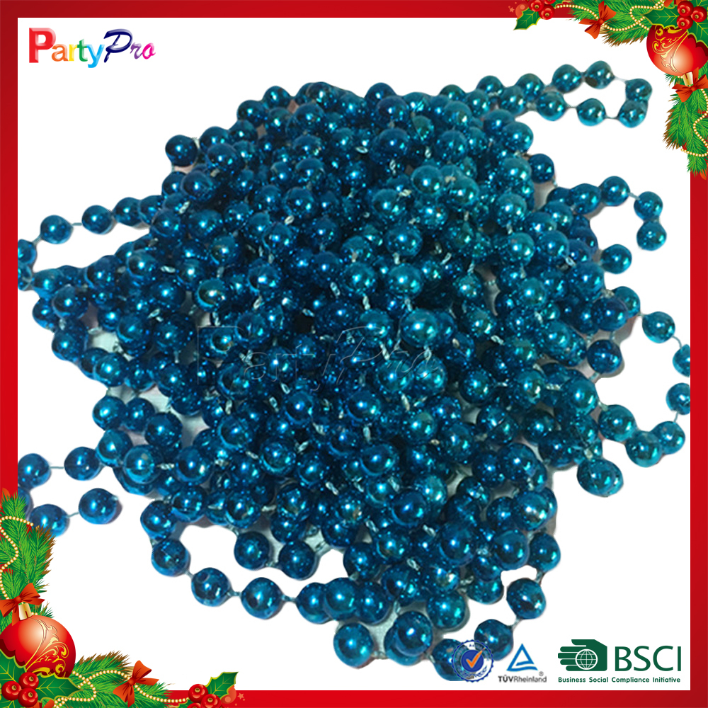 2015 Hot Sell High Quality Decorative Plastic Christmas Bead Chains