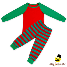 66TQZ522 Yihong unisex children clothing sets wholesale kids Christmas pajamas