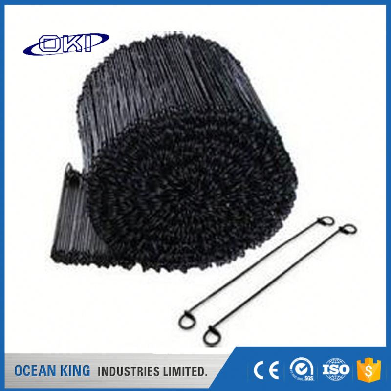 Manufacturers decorative building Copper coated black annealed soft loop tie wire electric galvanized