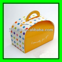 offset printing art paper cake carrier paper box