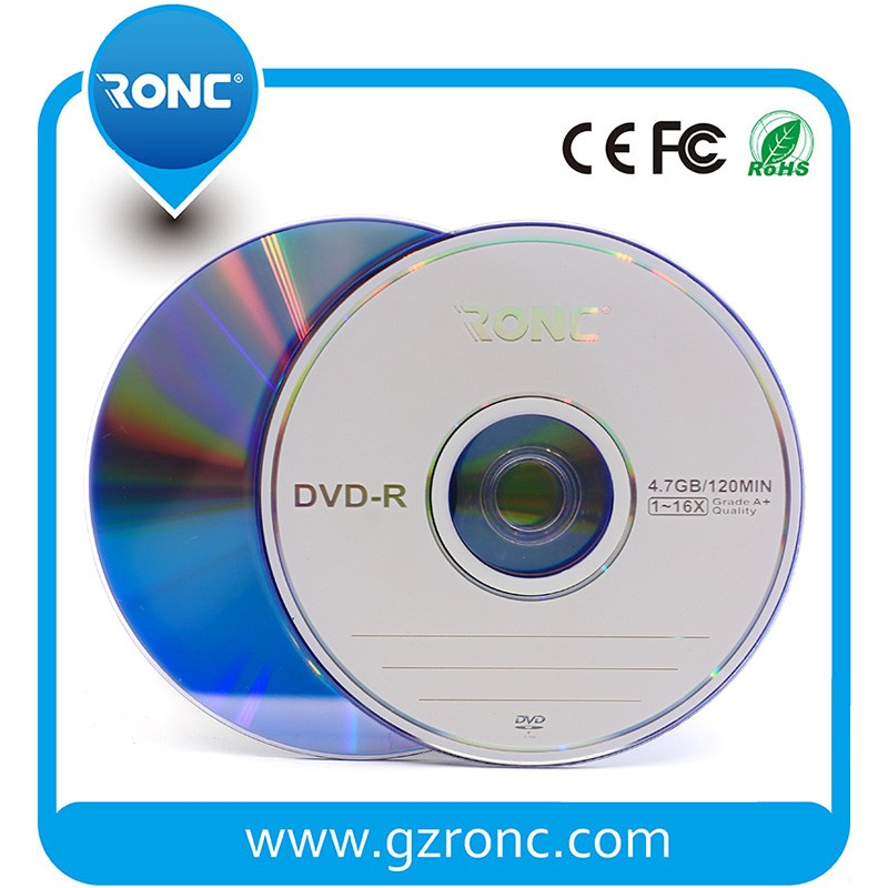 4.7GB blank dvd-r 16x/printable dvds/empty disc dvd wholesale
