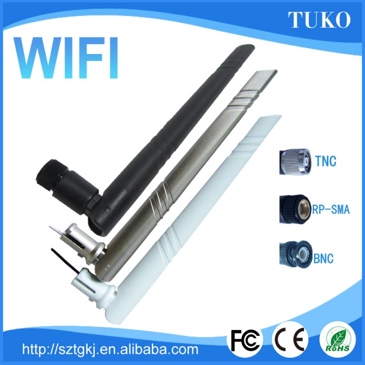 Anti jamming Frequency Range wifi/wireless networks 2.4ghz alfa 3dbi antenna