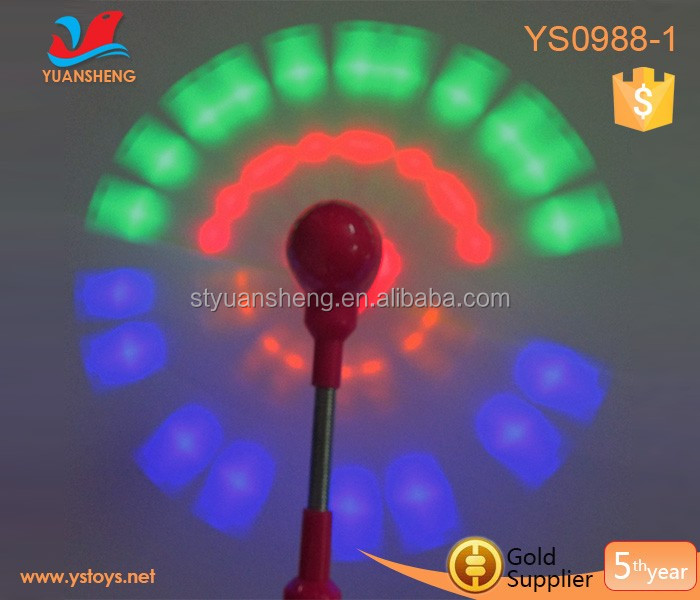 2018 led light up toys coloful flashing led windmill Children toys light up windmil