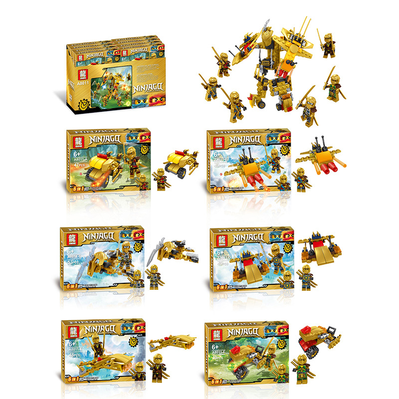 6pcs/lot NEW Nexo Knights Future Shield Building Blocks Castle Warrior Nexus Kids Toys Gift Compatible With Legoe