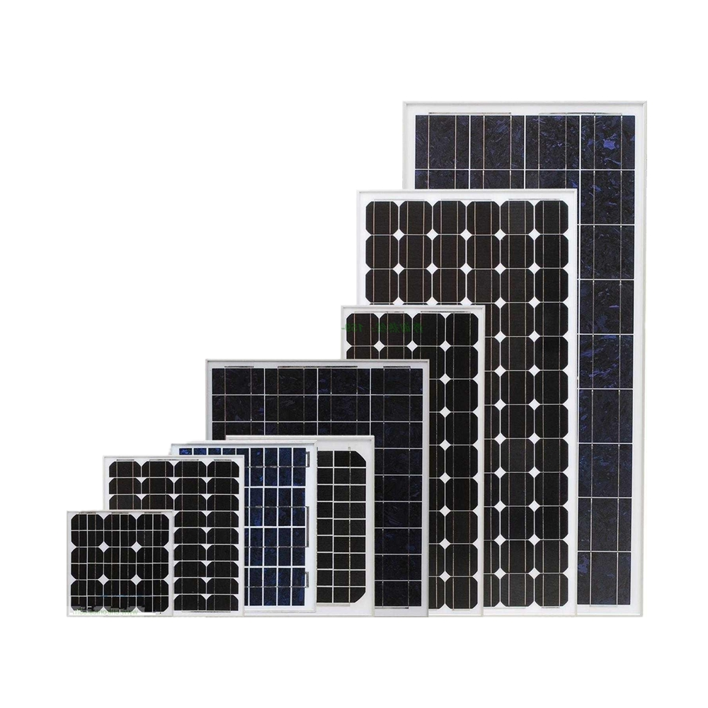 factory sell mono 150w 160w 170w 180w photovoltaic cell solar panels made in China