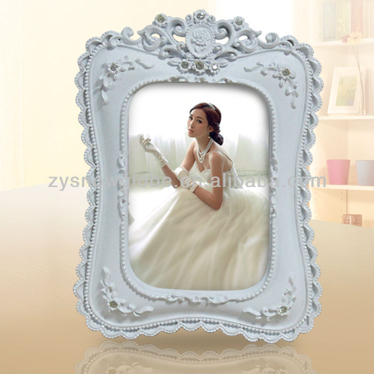 Large resin photo frame for lovers
