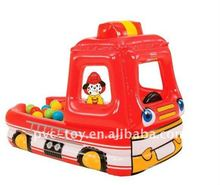inflatable fire truck for childrens fun