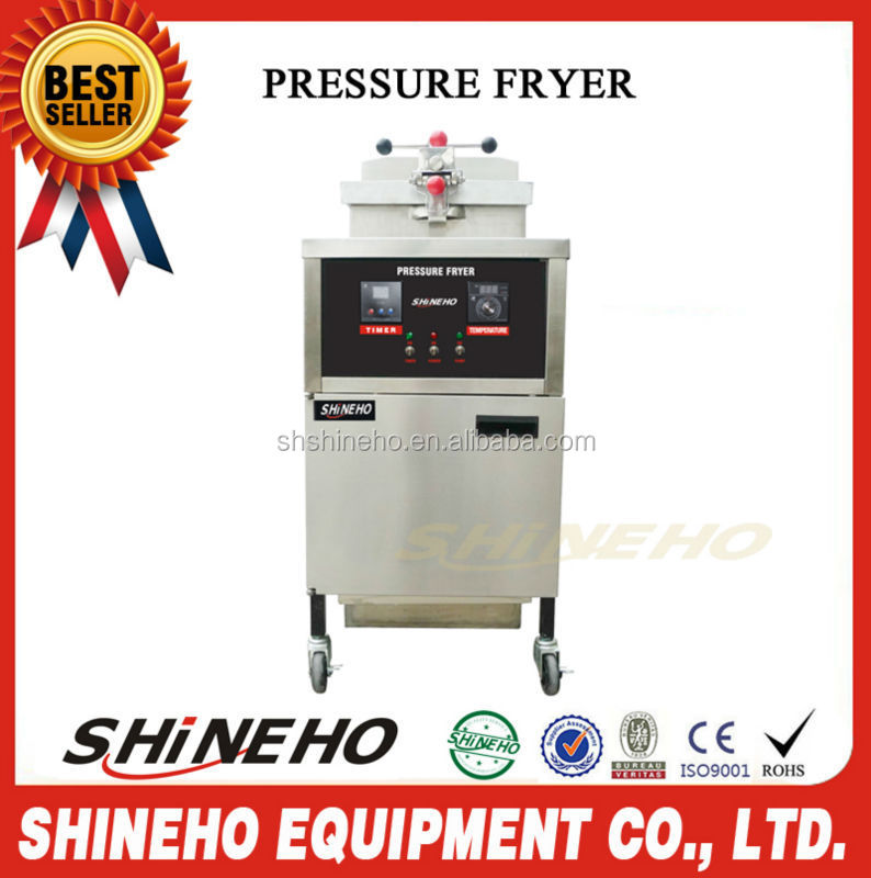 chicken pressure fryer/broasted chicken equipment