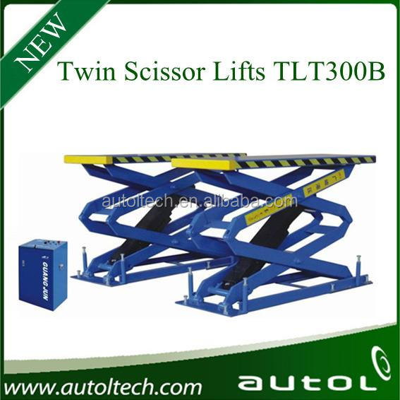 Twin Scissor Lifts TLT300B Standard Scissor Lifts Safety and Reliable