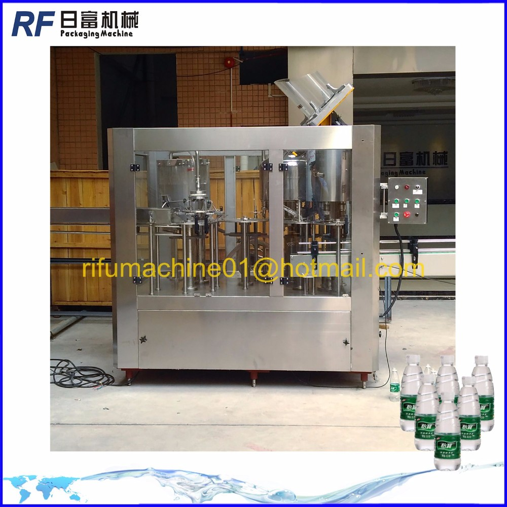 Automatic purified water bottling line
