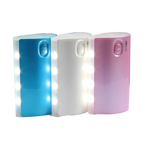 2017 hot selling portable power bank 4400mah for Smartphone,power bank with flashlight