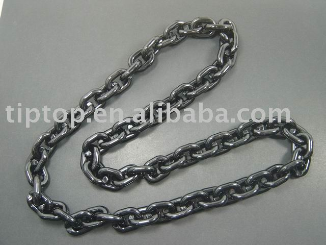 hip hop rope chain/hiphop plastic chain