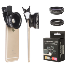 Hot selling Mobile camera lens 2 in 1kit 0.45X Wide angle and 12.5X Macro smartphone camera lens camera lens for <strong>blackberry</strong>
