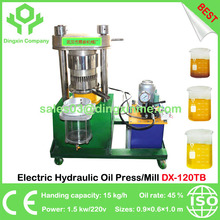 China Best Screw Electric Hydraulic Oil Press Mill Expeller 15kg/h