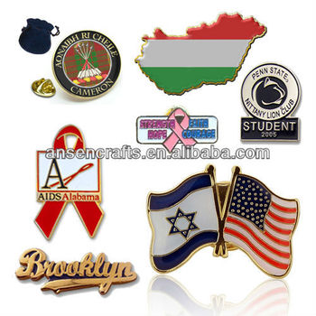 2013 HOT SALE Custom Lapel Pin Badge with logo