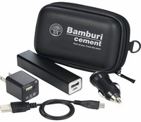 travel kits gift set computer accessory in box including the power bank stylus car charger adapter usb cable