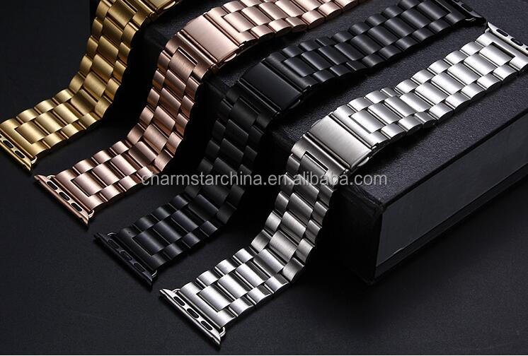 Luxury Steel Band for Apple Watch, 38mm 42mm for Apple Watch Band Stainless Steel Wholesale