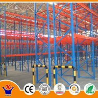 warehouse steel box beam racking system