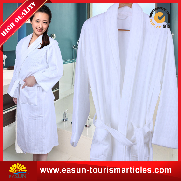 microfiber bath robe bathrobe with embroidered logo hilton hotel bathrobe