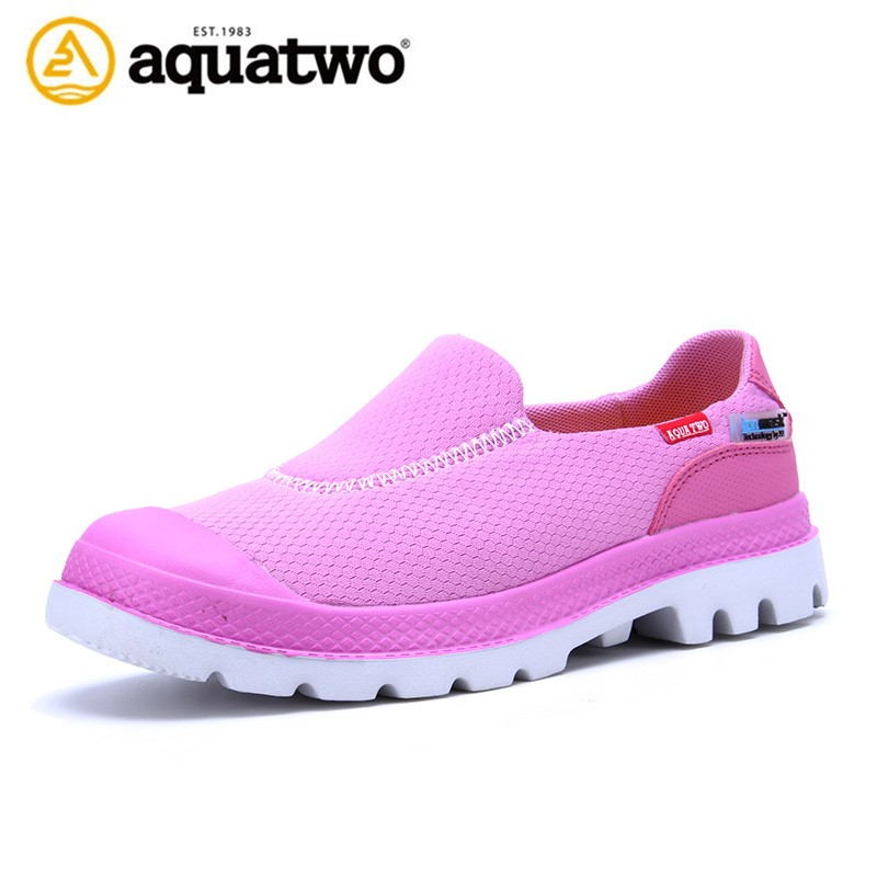 Hot selling Aquatwo Brand Slip on Style Mesh jogging shoes Women Casual shoes