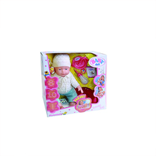 2017 New product 16 inch child silicone doll simulation doll