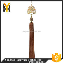 Factory reliable quality curtain tassel fringe decorative tassels