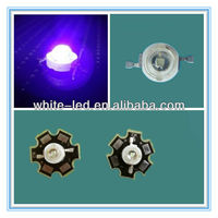 430nm 1W 3W High Power LED Diode UV LED Emitter for Plant grow lights