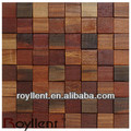 Ancient Boat Wood Mosaic/old ship wood mosaic/new desigen mosaic/brilliant mosaic tile